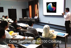 Color Seminar At MM2100 Cibitung