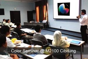 Color Seminar At MM2100 Cibitung