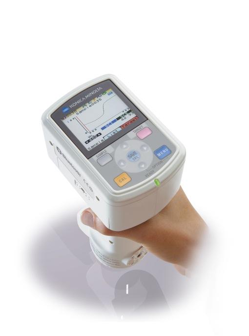 Spektrofotometer CM-700d Pengukuran Warna Aplikasi